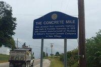 Edison's Historic Concrete Mile Undergoing Rehab