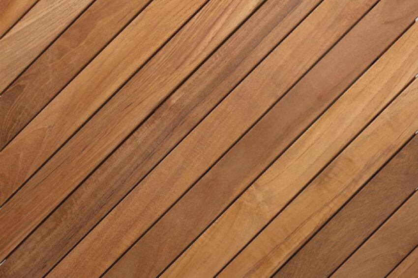 East Teak Fine Hardwoods Deck Tile