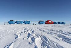 Antarctic Research Center Has to Move Due to Chasms in Ice Shelf
