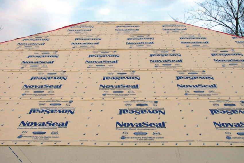 IPG NovaSeal Roof Underlayment