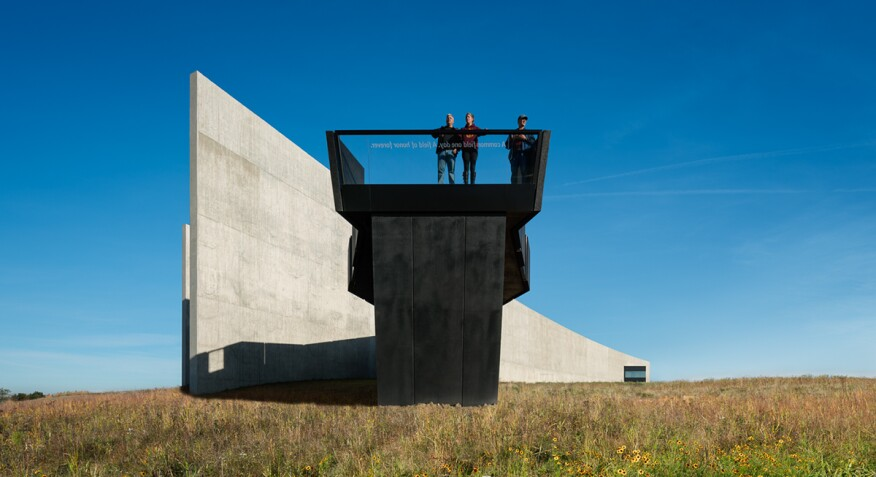"""Flight 93 National Memorial, PA"" (Memorial in Shanksville, Pa., designed by Paul Murdoch Architects)"