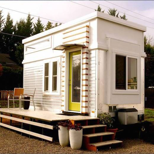 Salvaged Trailer Turned Tiny Ecobuilding Pulse Magazine