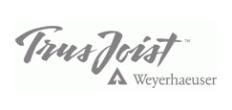 Trus Joist, A Weyerhaeuser Business Logo