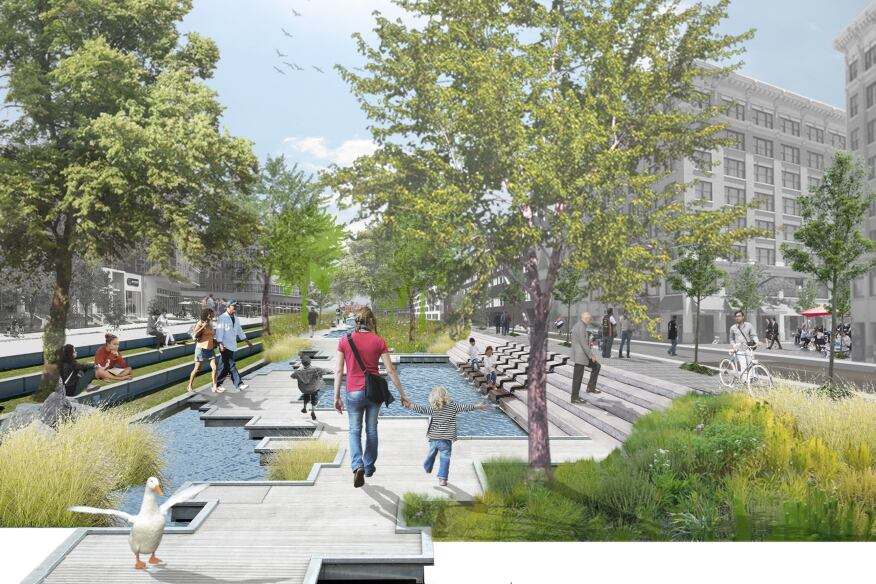 Charlottesville Strategic Investment Area Plan, Charlottesville, Va., Cunningham|Quill Architects