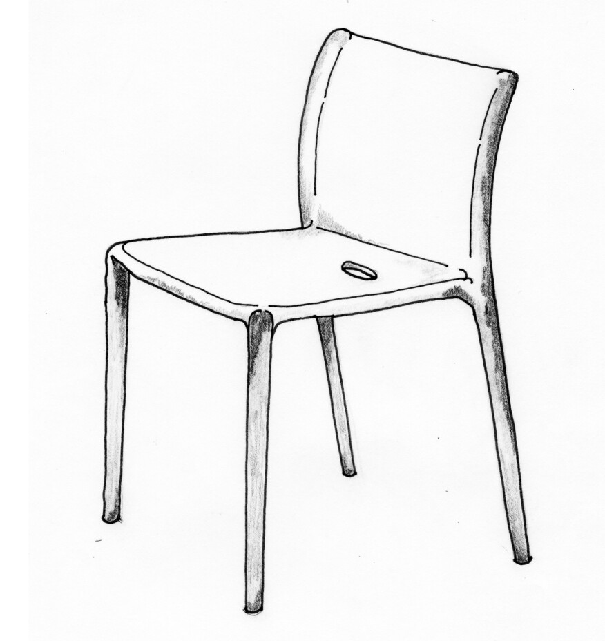 Jasper Morrison's Air Chair