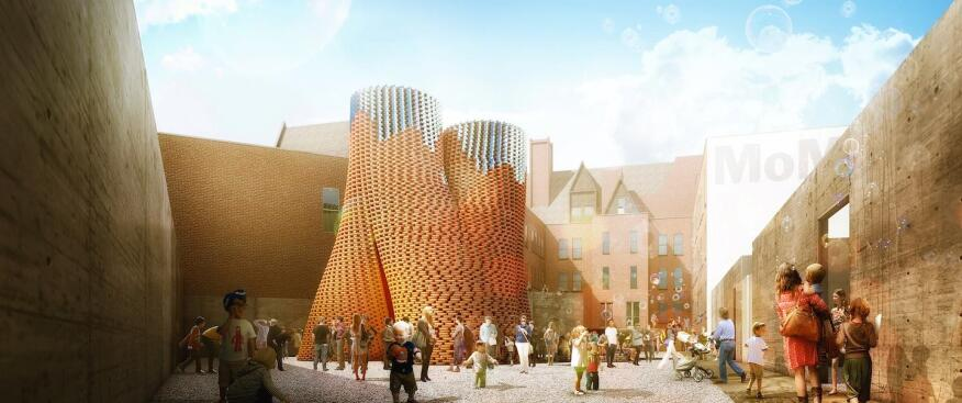 The Living's Hy-Fi for this summer's MoMA PS1 in Long Island City, N.Y.
