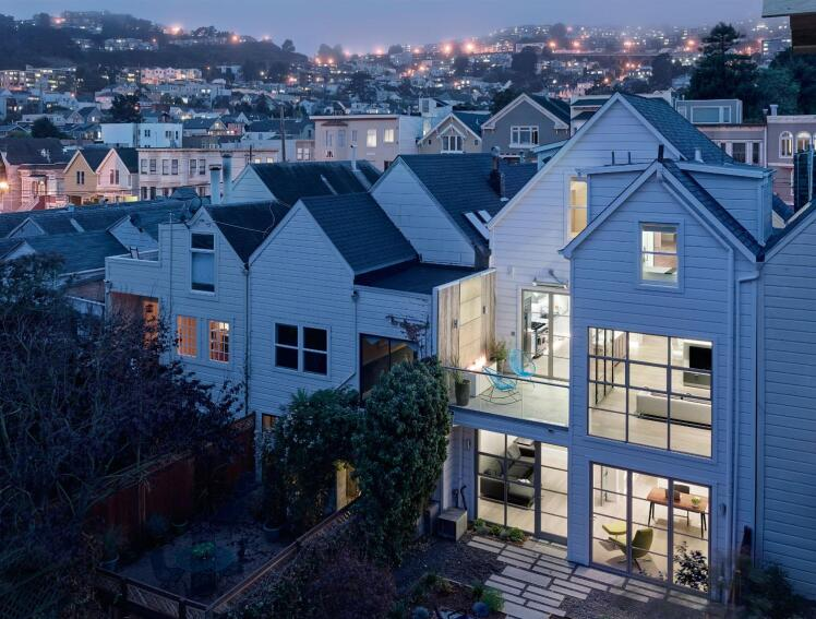 San Francisco Victorian Steps Into the Future
