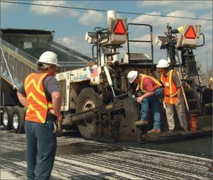Produced and placed at lower temperatures than hot-mix asphalt, warm mixes eliminate fumes and increase worker comfort during paving operations.