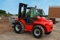 Rough Terrain Vertical-Masted Forklift from Manitou