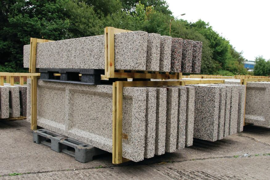 House Building Materials : Can plastics supplant wood and concrete as a structural