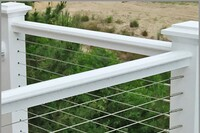 Installing Cable Railings in Composite Sleeved Posts