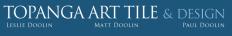 Topanga Art Tile Logo