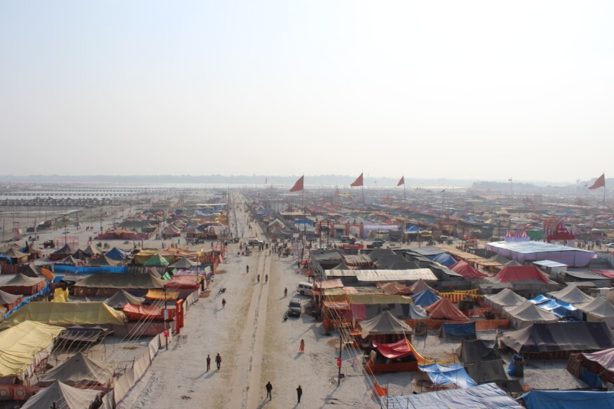 The Ephemeral Mega City of the Kumbh Mela in India