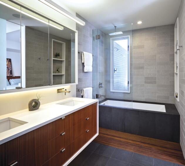 Simple Design Makes Master Bath Shine