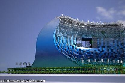 Wave Surfing Building
