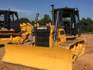 Comparable to a Caterpillar D6, the Chinese-made 161 hp Shantui SD16-3 dozer is often specified with a landfill package. Key accounts price: $164,738. IronDirect doesn't guarantee buyback, but customers can post any used equipment on the online marketplace.