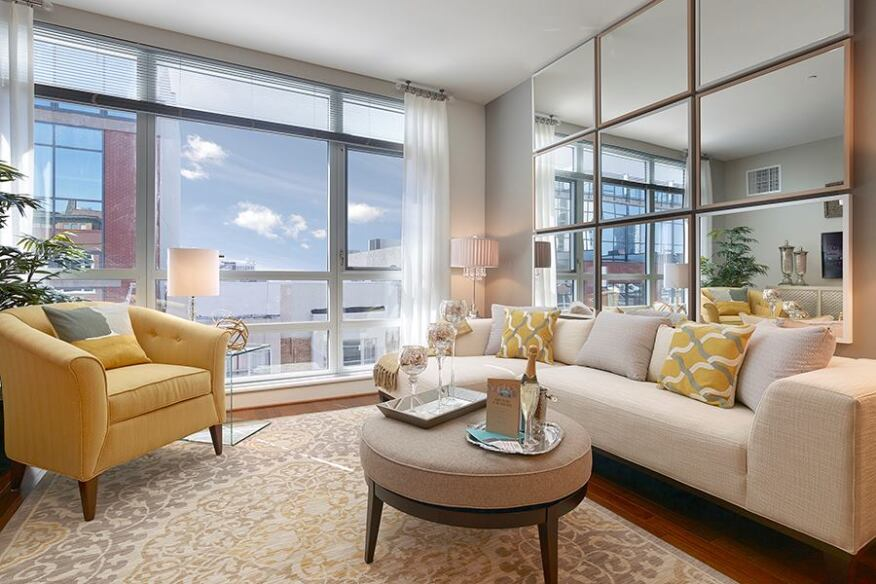 Large windows make Southstar's living units especially inviting.