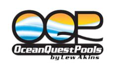 Ocean Quest Pools by Lew Akins Logo