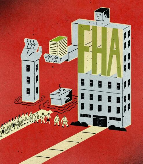 With Credit Tight, Builders and Buyers Line up for FHA Financing