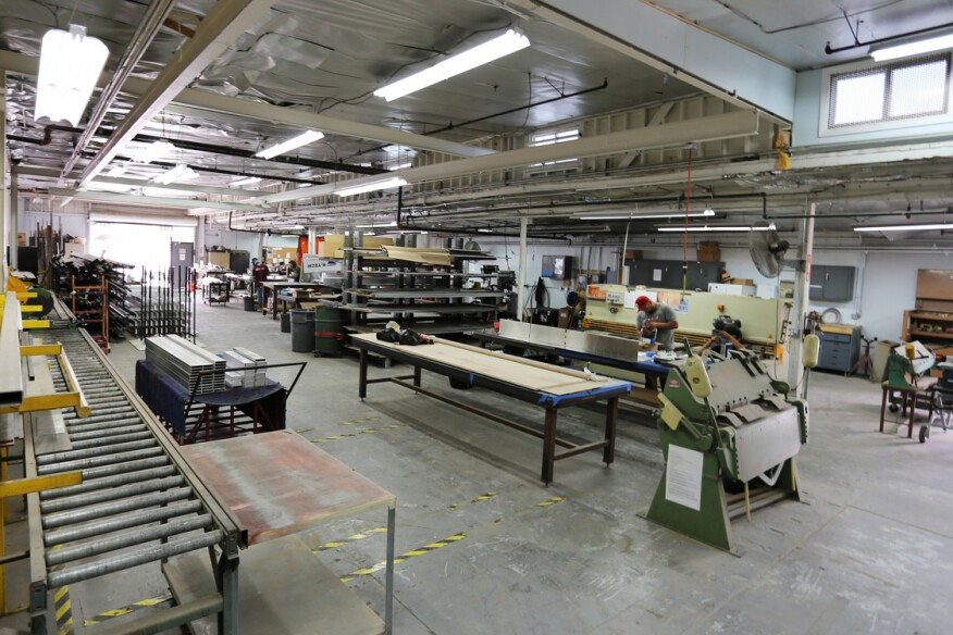 Inside the Los Angeles workshop where architecture firm Marmol Radziner fabricates its furniture, jewelry, hardware, and other products.