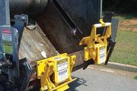 Bayne's Revolution automatic waste container lift