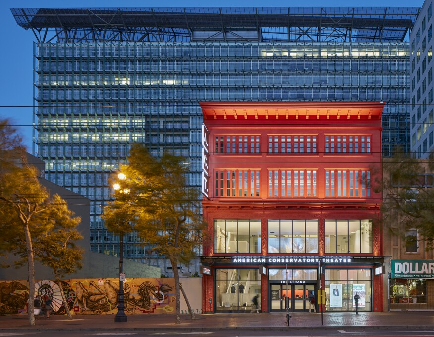 The Strand, American Conservatory Theater (A.C.T.), San Francisco, by Skidmore, Owings & Merrill (SOM)