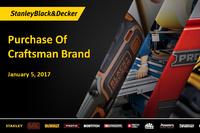 SB&D Buys Craftsman Brand