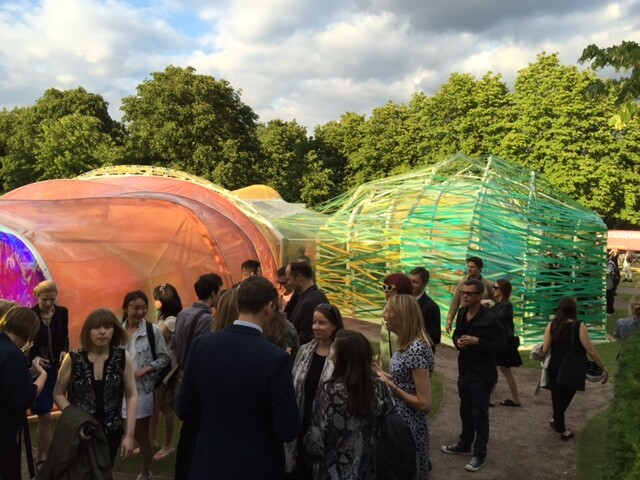 2015 Serpentine Gallery Pavilion, London, by SelgasCano.