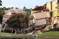 Florida Sinkhole Destroys Resort Villa