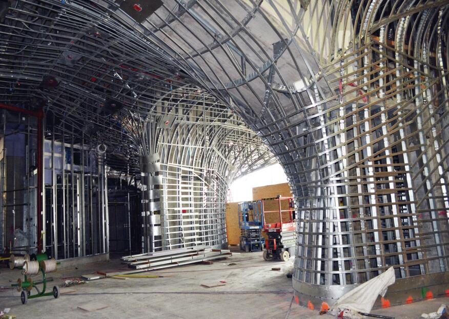 Construction photo, July 2013.