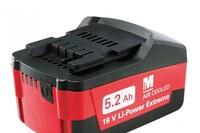 Metabo Ultra-M 5.2 Ah Battery