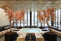 New York's Four Seasons Restaurant Awarded First Design Icon Restaurant Award