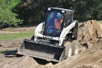 Terex + TSR50 radial lift path skid-steer loader
