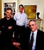 Joe (left), Tom (center), and Kevin Gilday