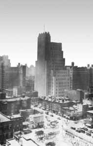 The Walker Tower as it appeared circa 1929.