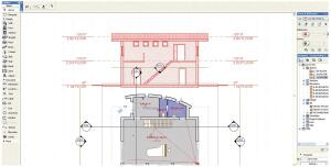 ArchiCAD Start's graphical user interface will look familiar to users of any previous ArchiCAD version. The program offers 3-D and BIM functionality in a package that's less than $2,000, but the absence of certain features-including the ability to open ArchiCAD 11 files-could limit its appeal.