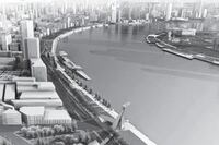 Chan Krieger Sieniewicz to Redesign Shanghai Riverfront
