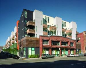 Project Details  Project: Folsom + Dore  Apartments, San Francisco  Size: 79,100 s.f. (98 residential units + common area)  Cost: $26.5 million  Completed: February 2005  Architects: David Baker + Partners and Baker Vila Architects  General Contractor: Cahill Contractors  Client/Owners: Citizens Housing Corp.  Consultants: Partnership for Advancing Technology in Housing; Steven Winter Associates