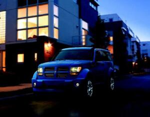UTILITY PLAYER: Because more homeowners are gravitating toward mid-sized SUVs, the garage has  the all-new 2007 Dodge Nitro—the first such vehicle for the manufacturer. The  company says it has sporty handling, loads of tech-savvy features, and  flexible cargo room to meet the everyday needs of most families.
