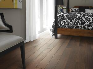 This hardwood flooring from Shaw meets the stringent standards of the Cradle to Cradle Products Innovation Institute.