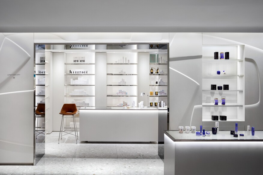 The Cosmetics Department