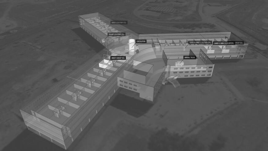 FA's model of Saydnaya Prison