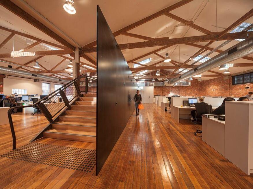 T2 Headquarters in Melbourne, Victoria, Australia, by Landini Associates