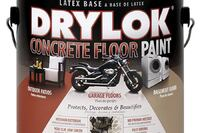 Inited Gilsonite Labs + Drylok Concrete Floor Paint