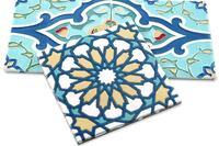 Custom Cuerda Seca, Fireclay Tile