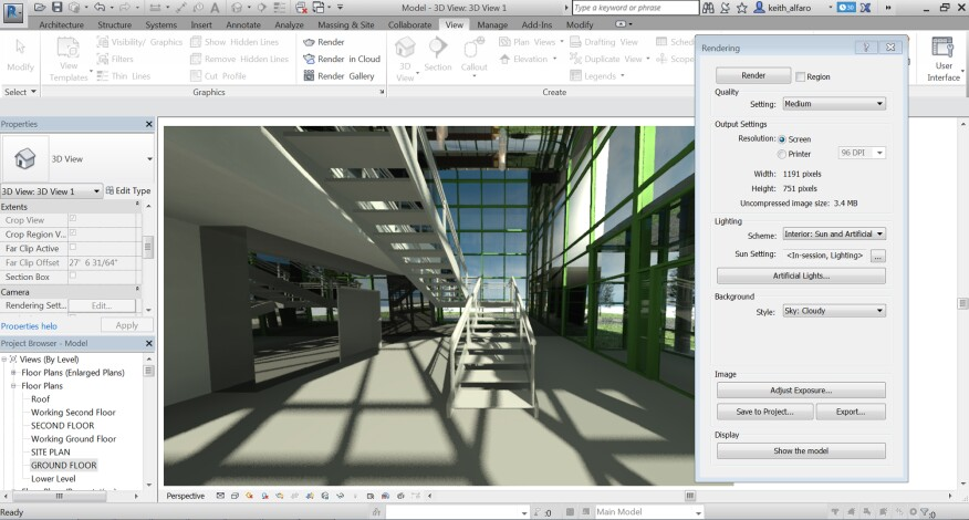 Render more quickly and accurately with Autodesk Raytracer  the default  visualization engine in Revit 2017. Five Standout Features from Autodesk Revit 2017   Architect