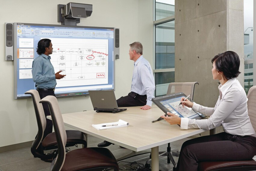 Touch Base: Interactive Whiteboards in the Remodeling Office
