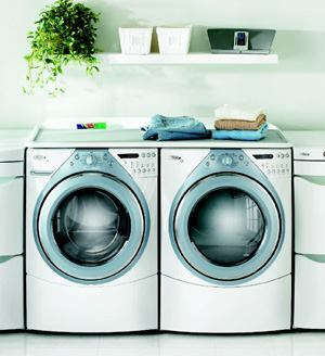 DYNAMIC DUO: Come bill time, your residents will be glad you installed the new Whirlpool Duet HT washer and dryer. The Energy Star-qualified system saves up to 70 percent more energy and uses 70 percent less water than top-load washers manufactured before 2004. Plus, the doors have larger openings than previous models for easier loading, and a dynamic stability control minimizes the machines' vibration. For more information, call Whirlpool Corp. at 800-253-3977 or visit www.insideadvantage.com.