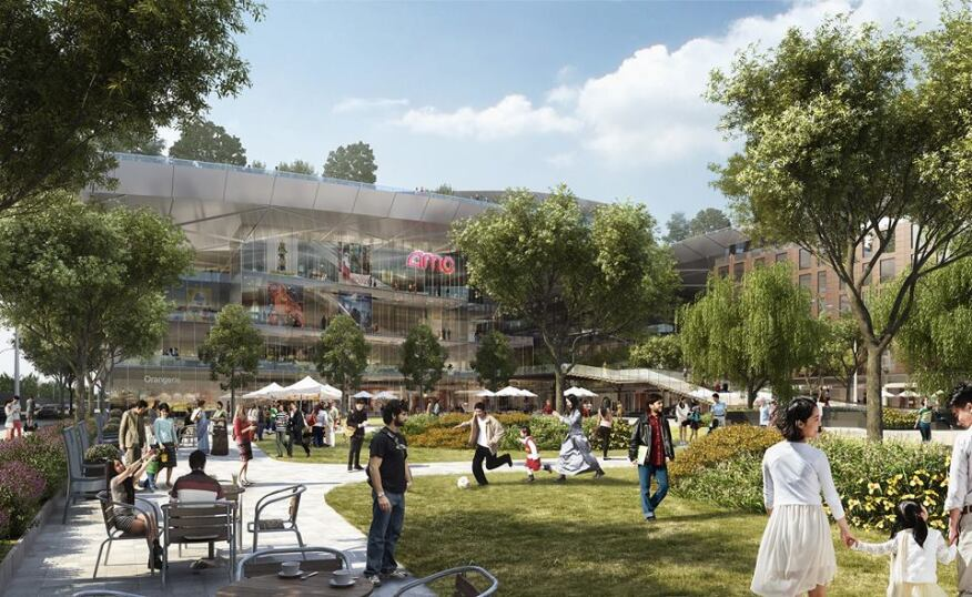 The Hills at Vallco Scheme Rendering
