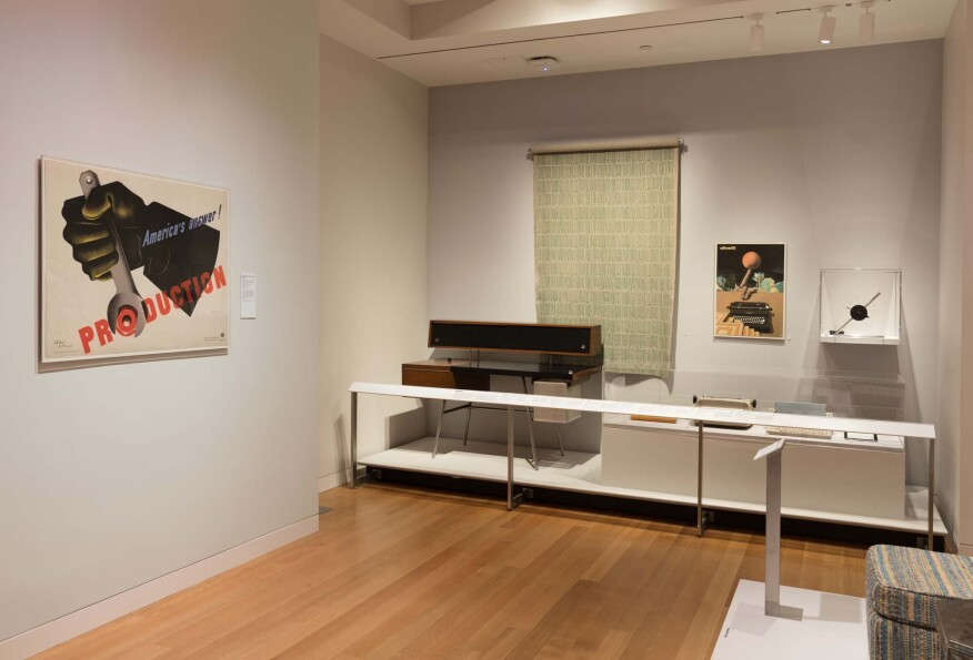 "Installation view of ""Energizing the Everyday: Gifts from the George R. Kravis II Collection."""